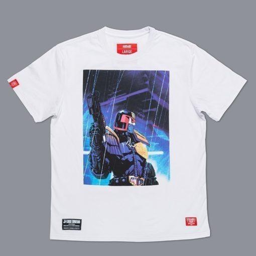 Scramble X Judge Dredd T Shirt 6