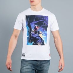 Scramble X Judge Dredd T Shirt 7 1
