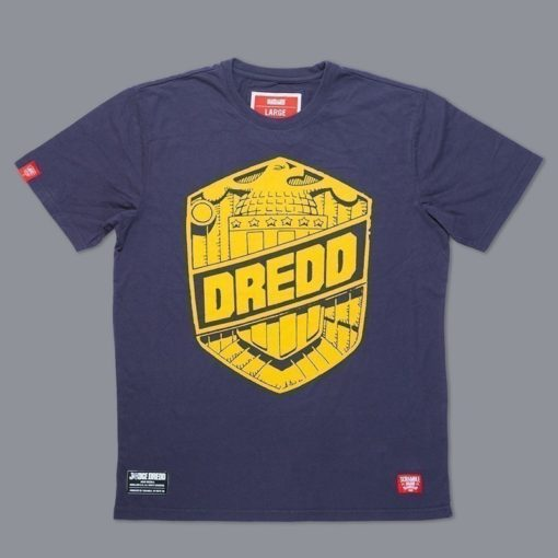 Scramble X Judge Dredd T Shirt reedited