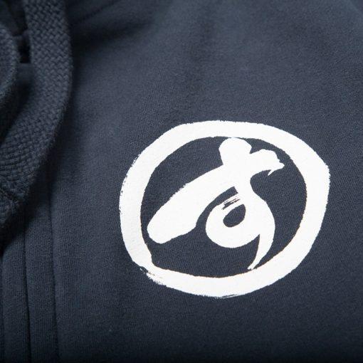 Scramble Zip Hoodie Brush Logo navy 4