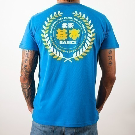 Scramble essentials blue tshirt 2