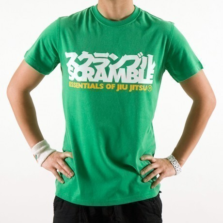 Scramble essentials green tshirt 1