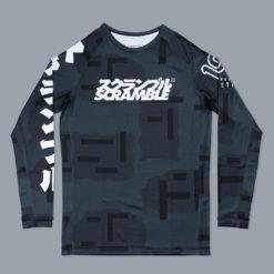 Scramble x 100 Athletic Rashguard Night Camo 1