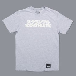 Scramble x 100 Athletic T shirt gra 1