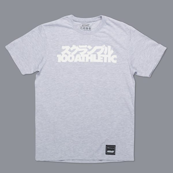 Scramble x 100 Athletic T shirt gra 1