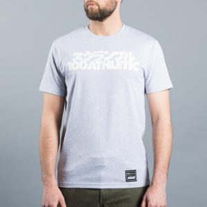 Scramble x 100 Athletic T shirt gra 2