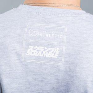 Scramble x 100 Athletic T shirt gra 3