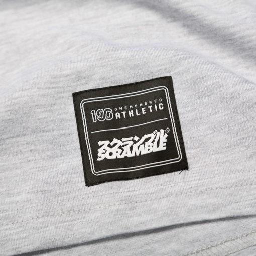 Scramble x 100 Athletic T shirt gra 4