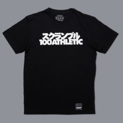 Scramble x 100 Athletic T shirt svart 1