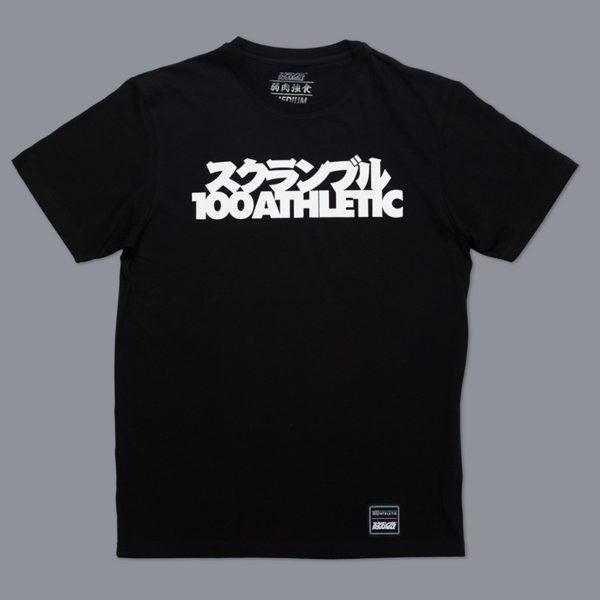 Scramble x 100 Athletic T shirt svart 1
