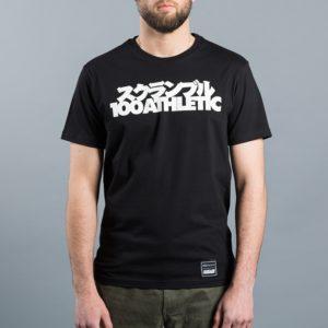 Scramble x 100 Athletic T shirt svart 2