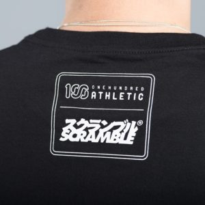 Scramble x 100 Athletic T shirt svart 3