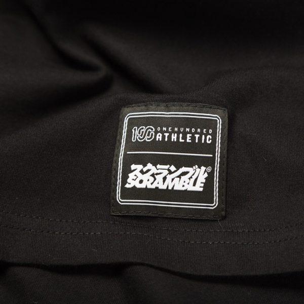 Scramble x 100 Athletic T shirt svart 4