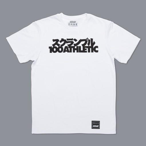 Scramble x 100 Athletic T shirt vit 1