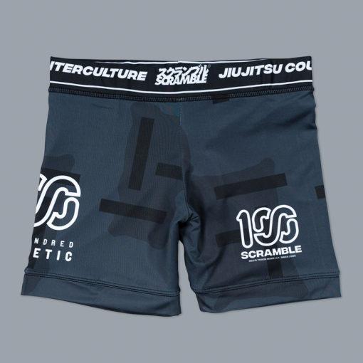 Scramble x 100 Athletic Vale Tudo Shorts Night Camo 1