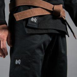 Scramble BJJ Gi Standard Issue Semi Custom svart 3