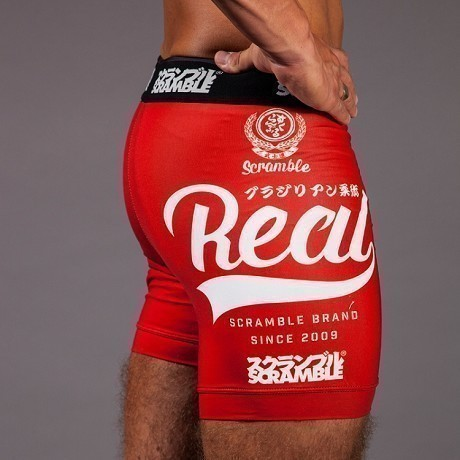 Scramble Real Vale Tudo Shorts red 1