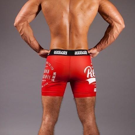 Scramble Real Vale Tudo Shorts red 3
