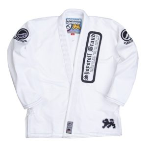 Shoyoroll BJJ Gi batch 55 white 1