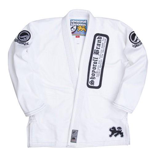 Shoyoroll BJJ Gi batch 55 white 1
