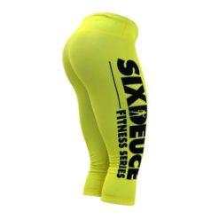 Six Duece Fitness Series 3 4 Tights yellow