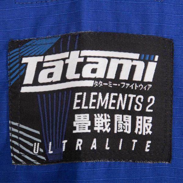 Tatami BJJ Gi Elements Ultralite 2.0 bla 10