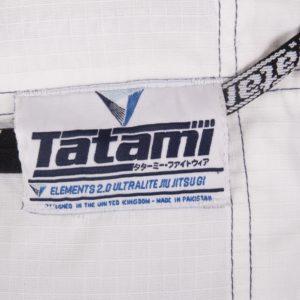 Tatami BJJ Gi Elements Ultralite 2.0 vit 10