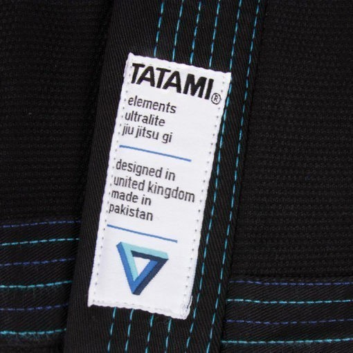 Tatami BJJ Gi Elements Ultralite svart 8