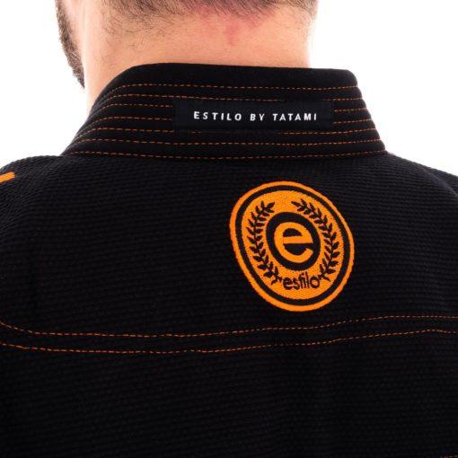 Tatami BJJ Gi Estilo 6 0 svart orange 10