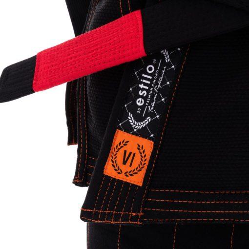 Tatami BJJ Gi Estilo 6 0 svart orange 6