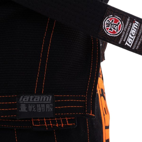 Tatami BJJ Gi Estilo 6 0 svart orange 7