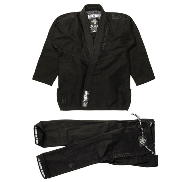Tatami BJJ Gi Estilo Black Label black black 1