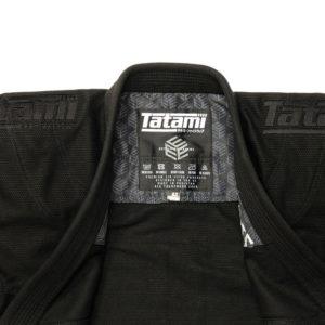 Tatami BJJ Gi Estilo Black Label black black 2