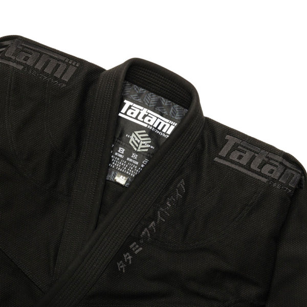 Tatami BJJ Gi Estilo Black Label black black 5