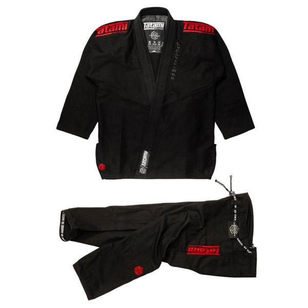 Tatami BJJ Gi Estilo Black Label black red 1