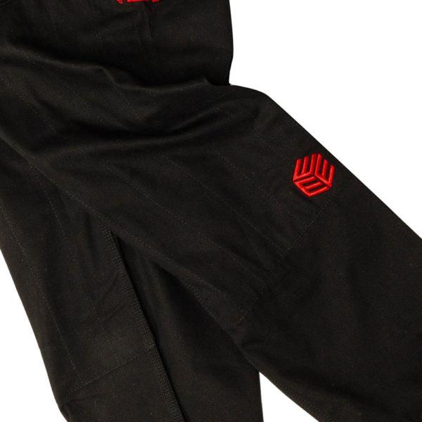 Tatami BJJ Gi Estilo Black Label black red 19