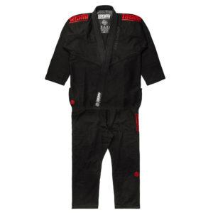 Tatami BJJ Gi Estilo Black Label black red 20