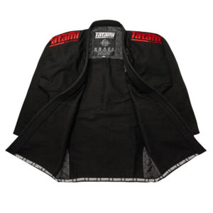 Tatami BJJ Gi Estilo Black Label black red 3