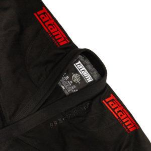 Tatami BJJ Gi Estilo Black Label black red 7