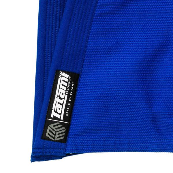 Tatami BJJ Gi Estilo Black Label blue grey 10