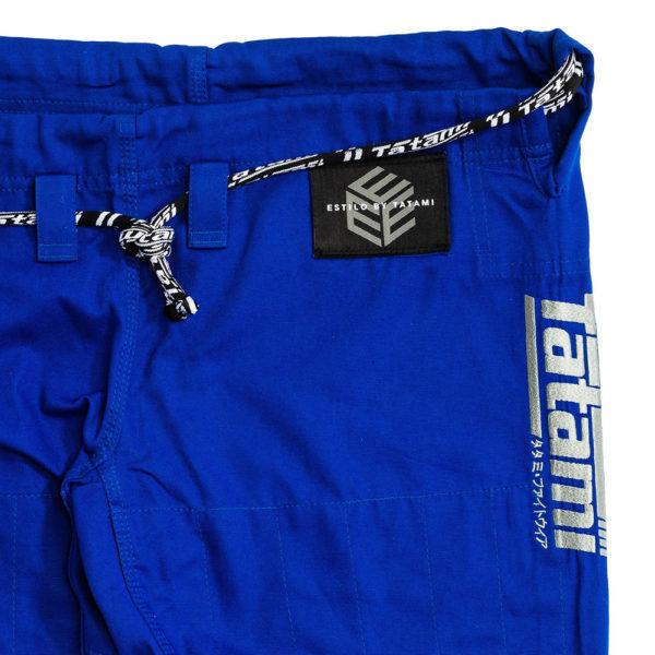 Tatami BJJ Gi Estilo Black Label blue grey 16