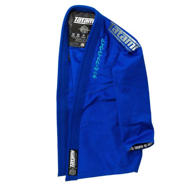 Tatami BJJ Gi Estilo Black Label blue grey 2