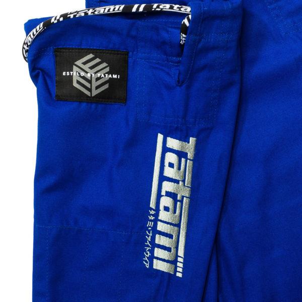 Tatami BJJ Gi Estilo Black Label blue grey 20