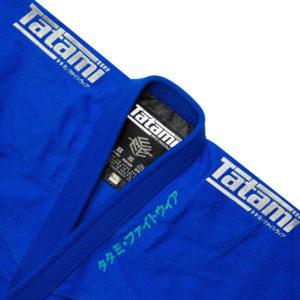 Tatami BJJ Gi Estilo Black Label blue grey 5