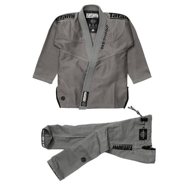 Tatami BJJ Gi Estilo Black Label grå/svart