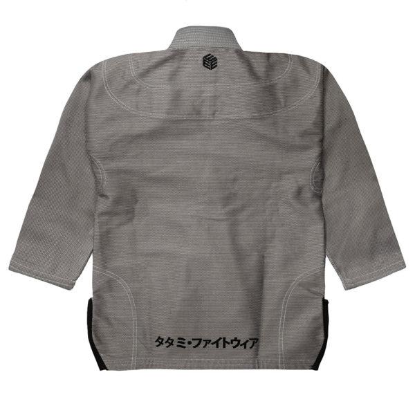 Tatami BJJ Gi Estilo Black Label grey black 5