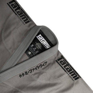 Tatami BJJ Gi Estilo Black Label grey black 7