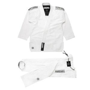 Tatami BJJ Gi Estilo Black Label white grey 1