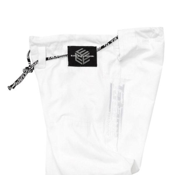 Tatami BJJ Gi Estilo Black Label white white 17