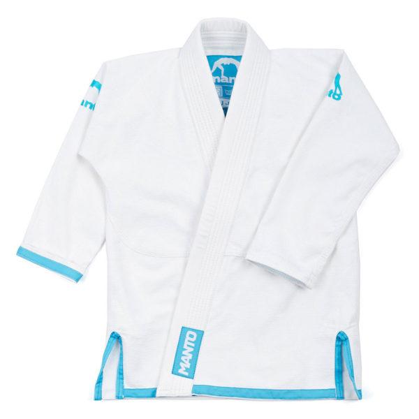 Tatami BJJ Gi Kids 2.0 vit blå 1